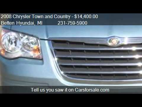 2008 Chrysler Town and Country Touring Mini Van Passenger fo