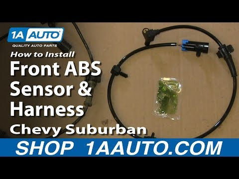 How to Replace Front ABS Sensor with Harness 00-07 Chevy ... Abs Wire Harness Chevy on