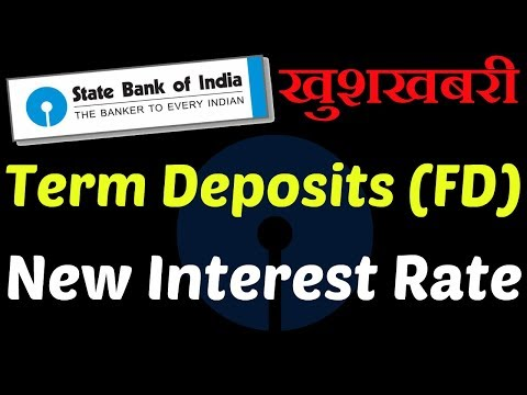 SBI Fixed Deposit (FD) Latest Interest Rates 2018-2019 | Retail Domestic Term Deposits calculator