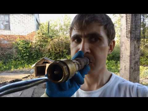 НЕ КАЧАЕТ со СКВАЖИНЫ Часть 1 (1 из 2) вода с железом / Фаниль  Татарстан