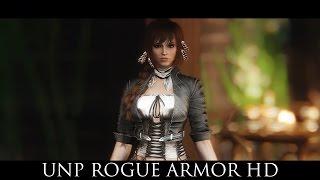 TES V - Skyrim Mods: UNP Rogue Armor HD