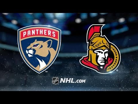 FLORIDA PANTHERS VS OTTAWA SENATORS 3/20/18