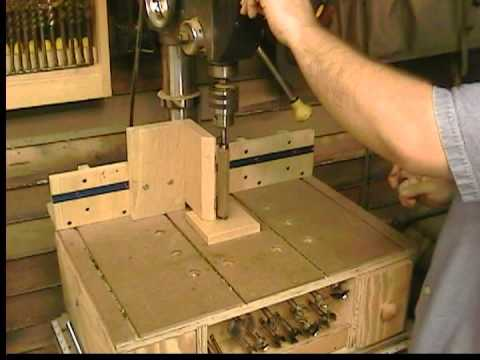 Pen And Lathe Turning On A Drill Press Homemade Dp Table