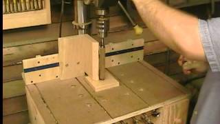 Pen And Lathe Turning On A Drill Press (homemade Dp Table P2)-woodworking With Stumpy Nubs #21