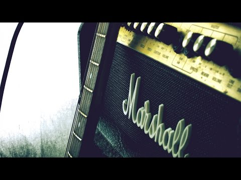 Modern blues-rock backing track