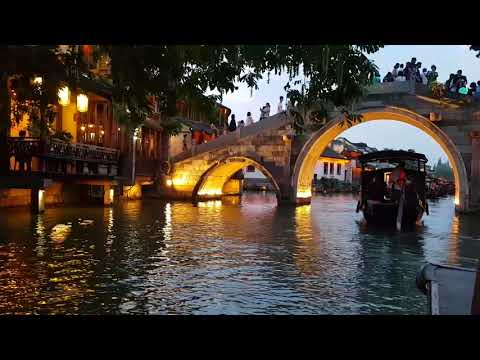 Wuzhen Highlight, scenic town near shanghai. 乌镇