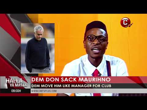 Dem don sack Maurihno | Sports Pidgin News