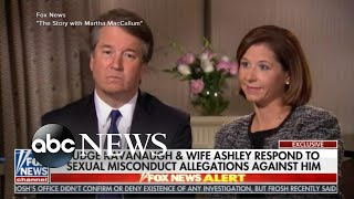 Brett Kavanaugh and his wife fire back in TV interview