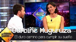 """Garbiñe Muguruza: """"Desde pequeña soñé con ser la número uno del tenis"""" - El Hormiguero 3.0"""