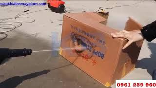 Máy Rửa Xe F09 Quay Thực Tế  Siêu Mạnh