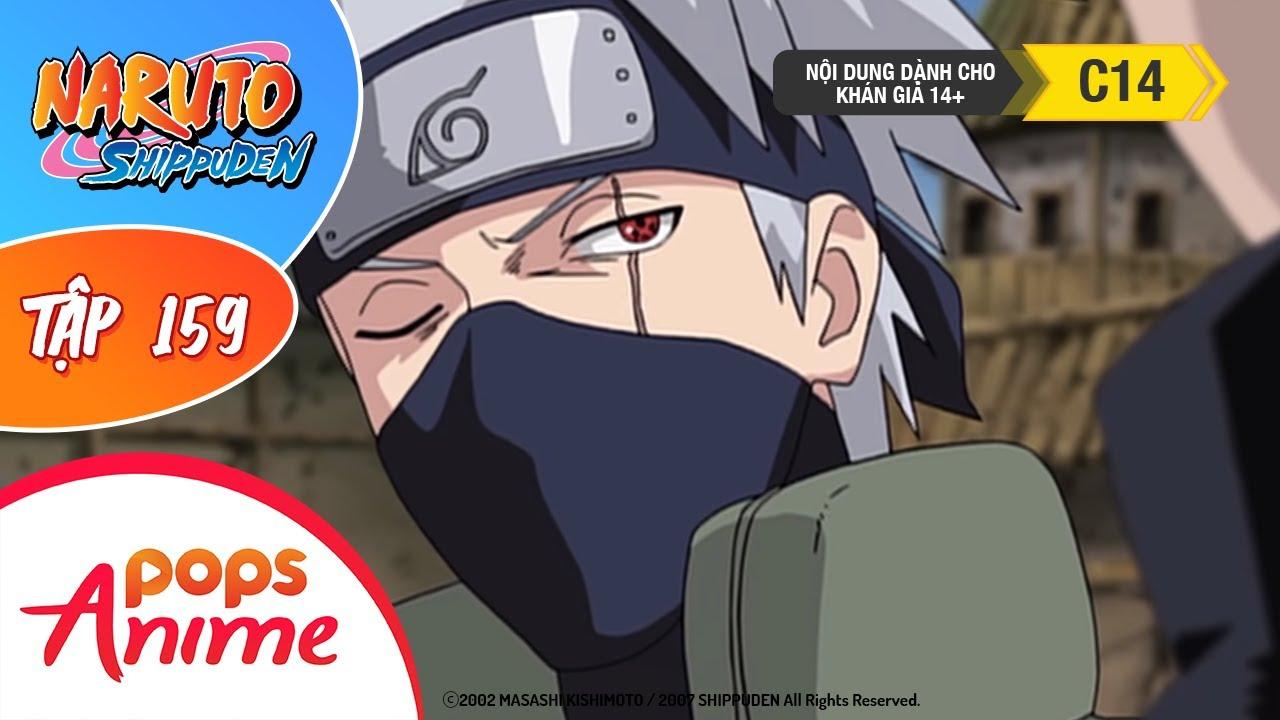 Naruto Shippuden Tập 159 - Pain Đối Đầu Kakashi - Trọn Bộ Naruto Lồng Tiếng