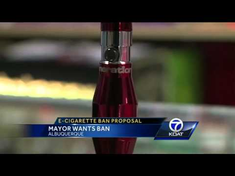 Mayor: City should ban selling e-cigarettes to minors