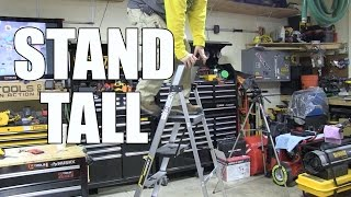 We take a look at Gorilla ladders and are pleasantly surprised at the quality and ease of use. They are lightweight and inexpensive,