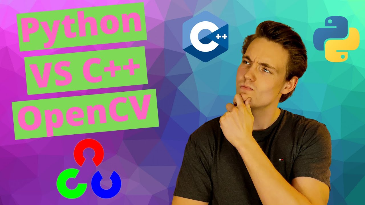 Python VS C++ in OpenCV and Computer Vision - Speed and Performance Test with Code