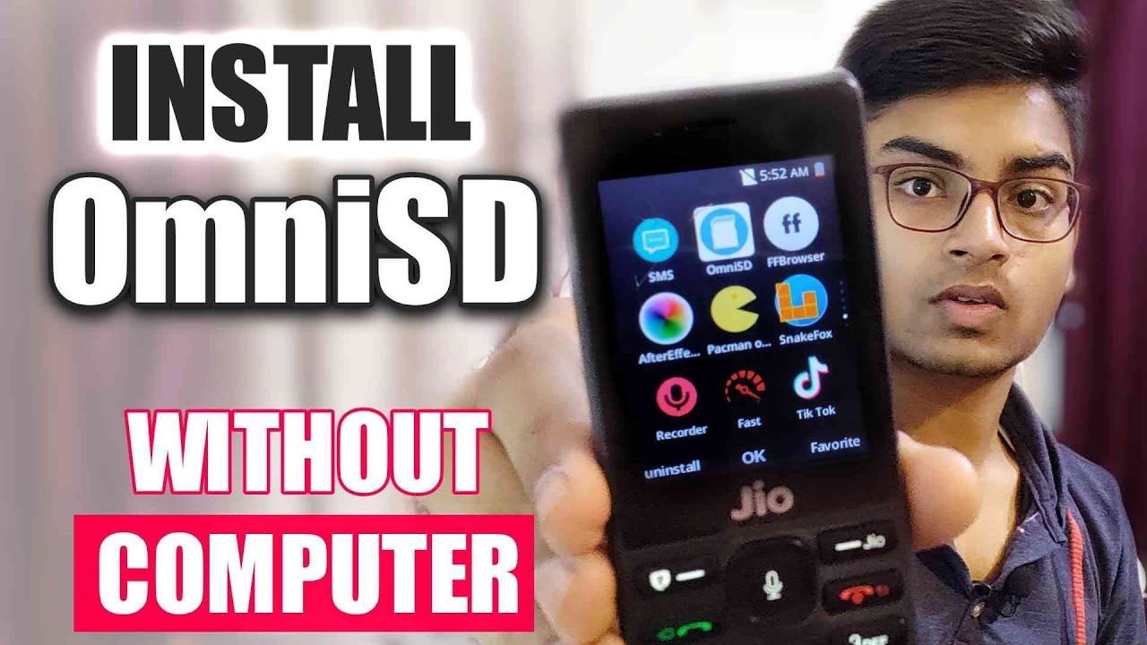 Download How to Install OmniSD in Jio Phone without PC | Without Computer Method