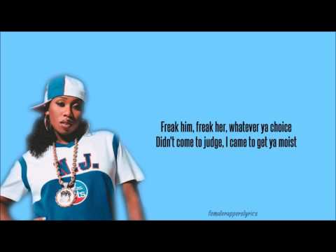 Missy Elliott - Pass That Dutch Lyrics Video
