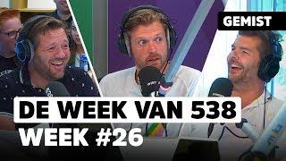 Een verhitte discussie tussen Jo en Sander over lichaamshaar | De Week Van 538