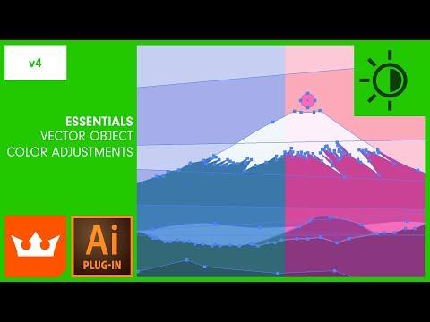 Ep.4 Vector Object Colour Adjustments In Illustrator | PHANTASM V4