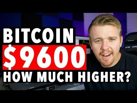 BITCOIN $9600 900% YEARLY RETURN!!!!