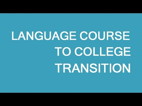 Transition From Language Studies To College In Canada. LP Group