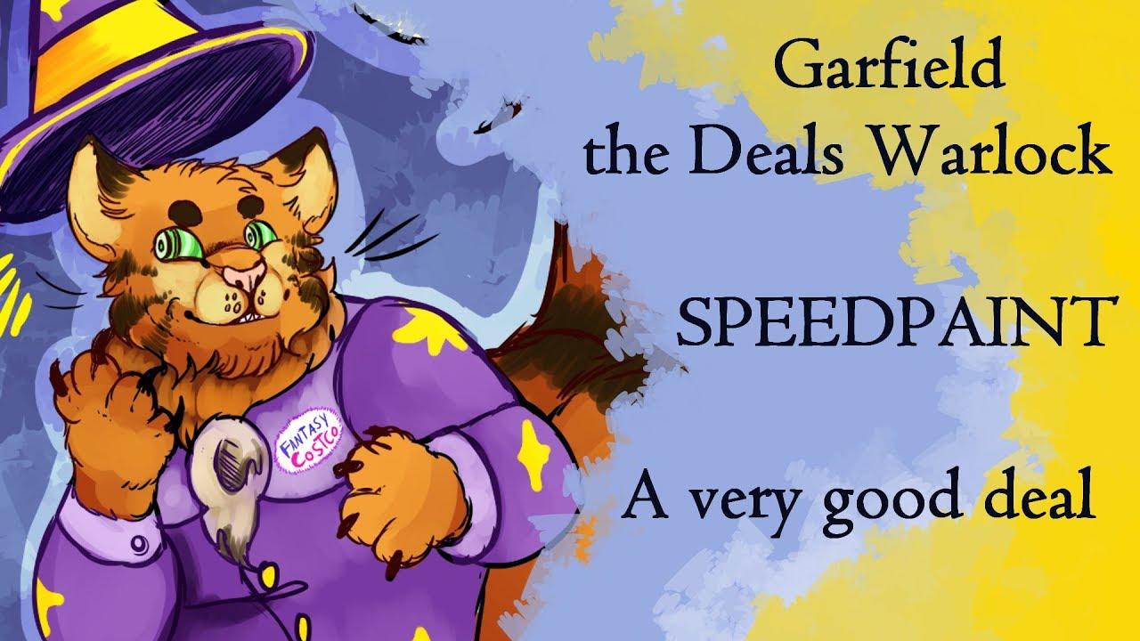 Garfield The Deals Warlock Youtube