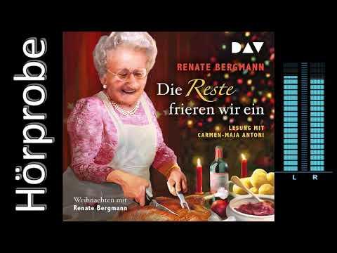 Die Reste frieren wir ein. Weihnachten mit Renate Bergmann YouTube Hörbuch Trailer auf Deutsch