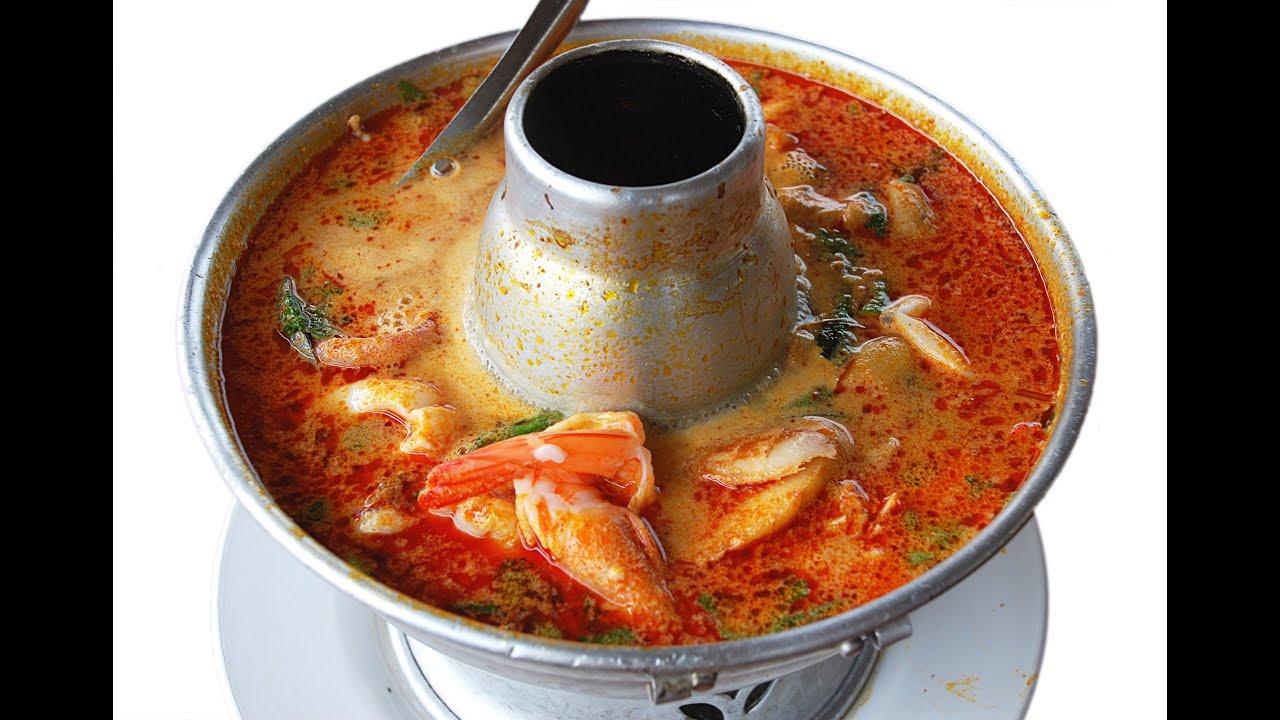 Thai Food Recipes: Tom Yum (Tomyum Hot and Sour Squid Soup ...