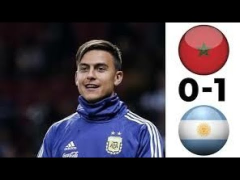 Marocco Vs Argentina   All Goals Highlight