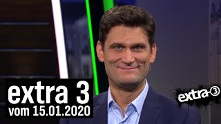 Extra 3 vom 15.01.2020 mit Christian Ehring | extra 3 | NDR