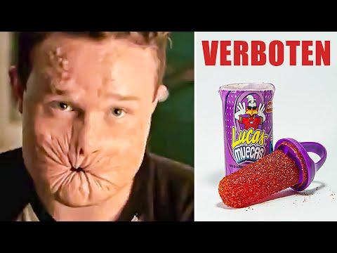 Süßigkeiten die VERBOTEN wurden!