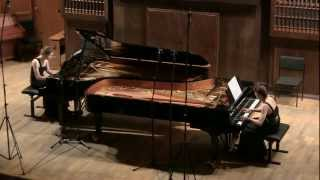 Brahms, Variations on a theme by Haydn for two pianos, op. 56b