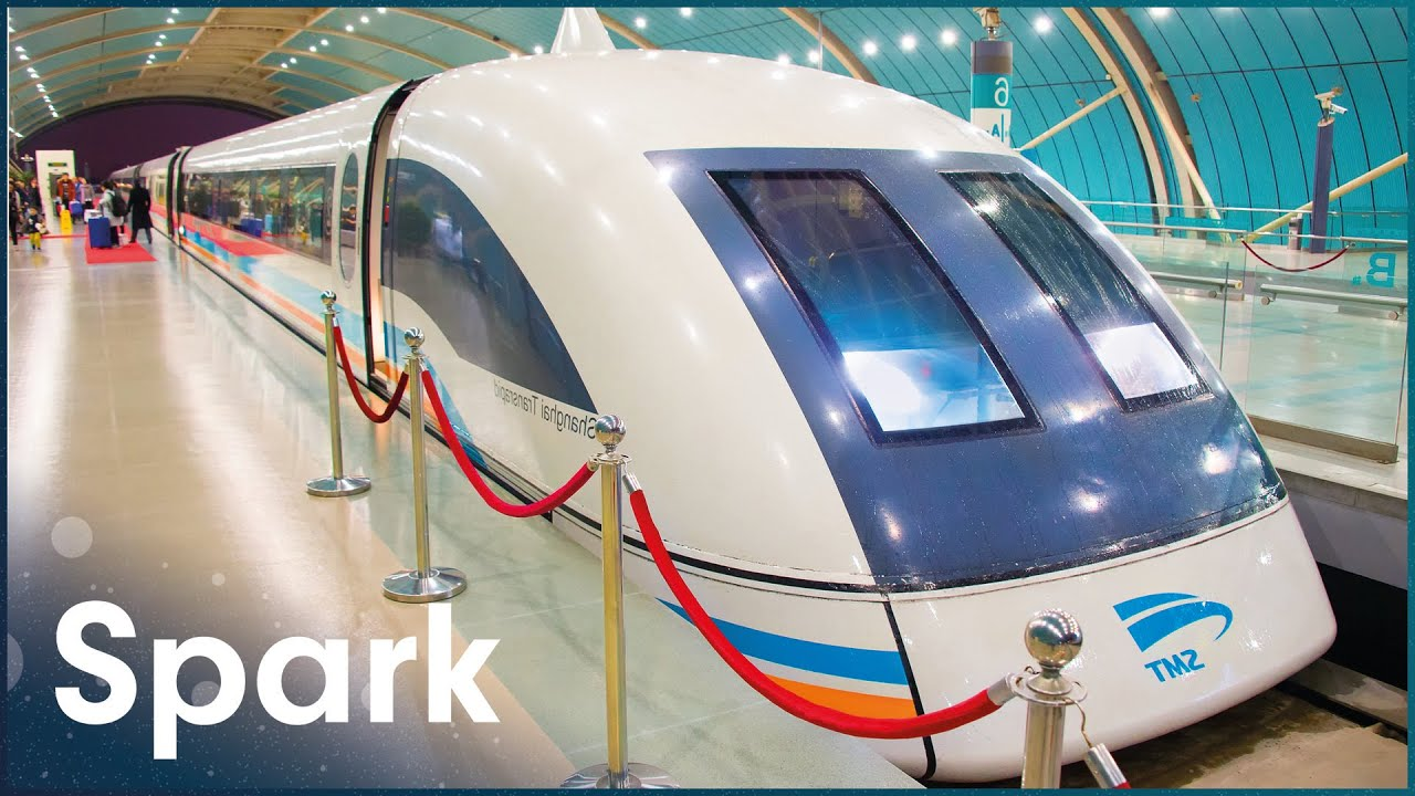 MAGLEV: Superfast Futuristic Magnetic Levitation Train | Megastructures | Spark