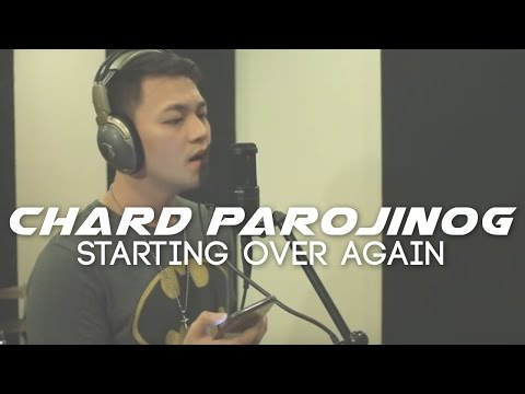 Starting Over Again by Natalie Cole | Chard Parojinog COVER VERSION