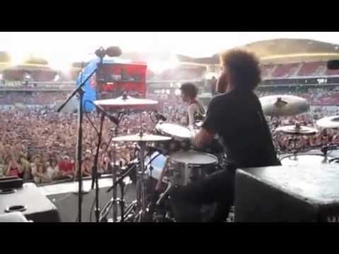 The Mars Volta Goliath Dave Elitch Drum Cam