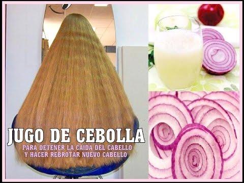 JUGO DE CEBOLLA PARA LA CAÍDA DEL CABELLO Y el rebrote de cabello nuevo b76c257096a5