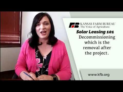 Farm Factor - Solar Leasing May 14, 2019