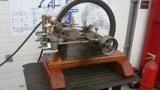 Otto Slide Valve 4 cycle carrier flame ignition test engine