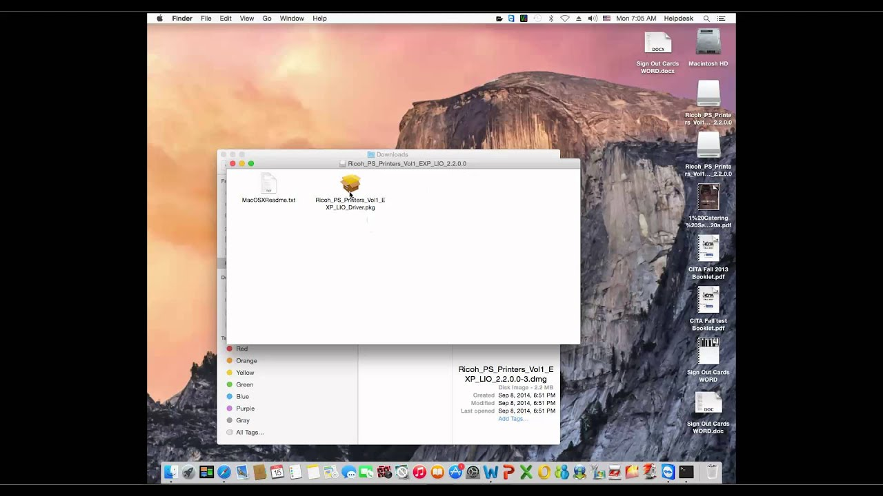 How to Install a Ricoh Copier on a Mac OS X Y…