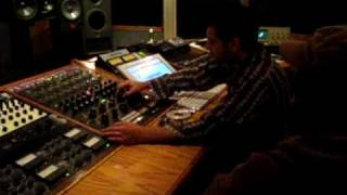 "Dion BLAST!`s song ""Everyday is Christmas"" being mastered bt Gil Tamazyan."