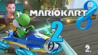 Let's Play Mario Kart 8 [Facecam] Part 2 : Nie wieder Bikes !