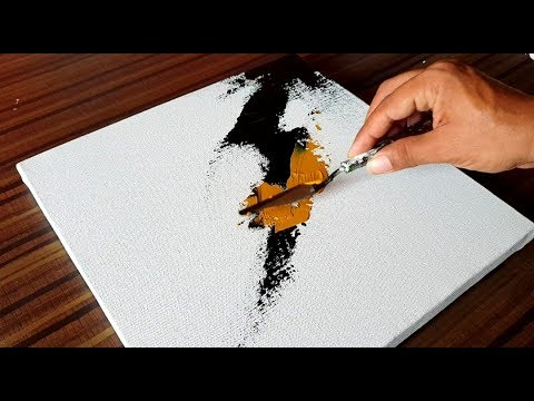 Acrylic Abstract Painting / Soft Blending / Demonstration /
