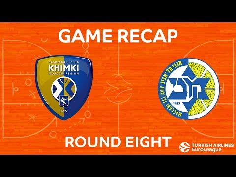 Highlights: Khimki Moscow region - Maccabi FOX Tel Aviv