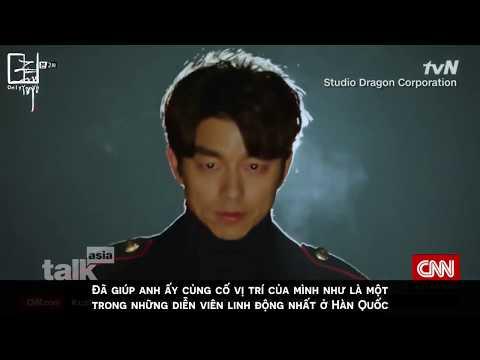 [VIETSUB] 170527 CNN TalkAsia - Gong Yoo