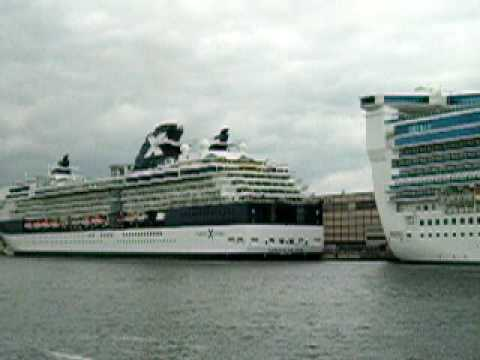 Finland, Helsinki,  Katajanokka and Hernesaari Star Princess & Celebrity Constellation