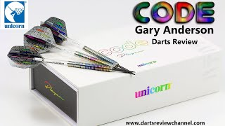 Unicorn Code Players Gary Anderson Darts Review