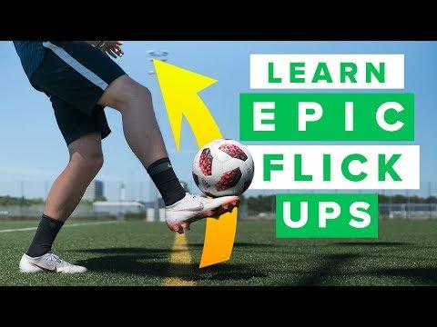 Learn 5 cool & easy flick ups | we teach you impressive football skills