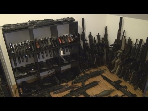 Airsoft gun collection