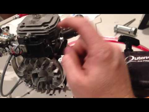 Part4 DBXL, GAS Mix, MSD Spark Plug Wire install