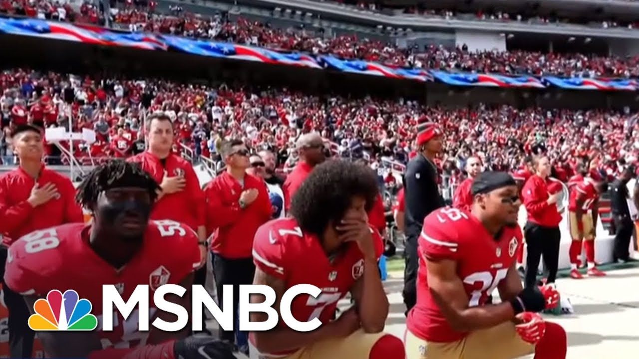 takeaknee-nfl-protest-controversy-heats-up-on-and-off-the-field-am-joy-msnbc