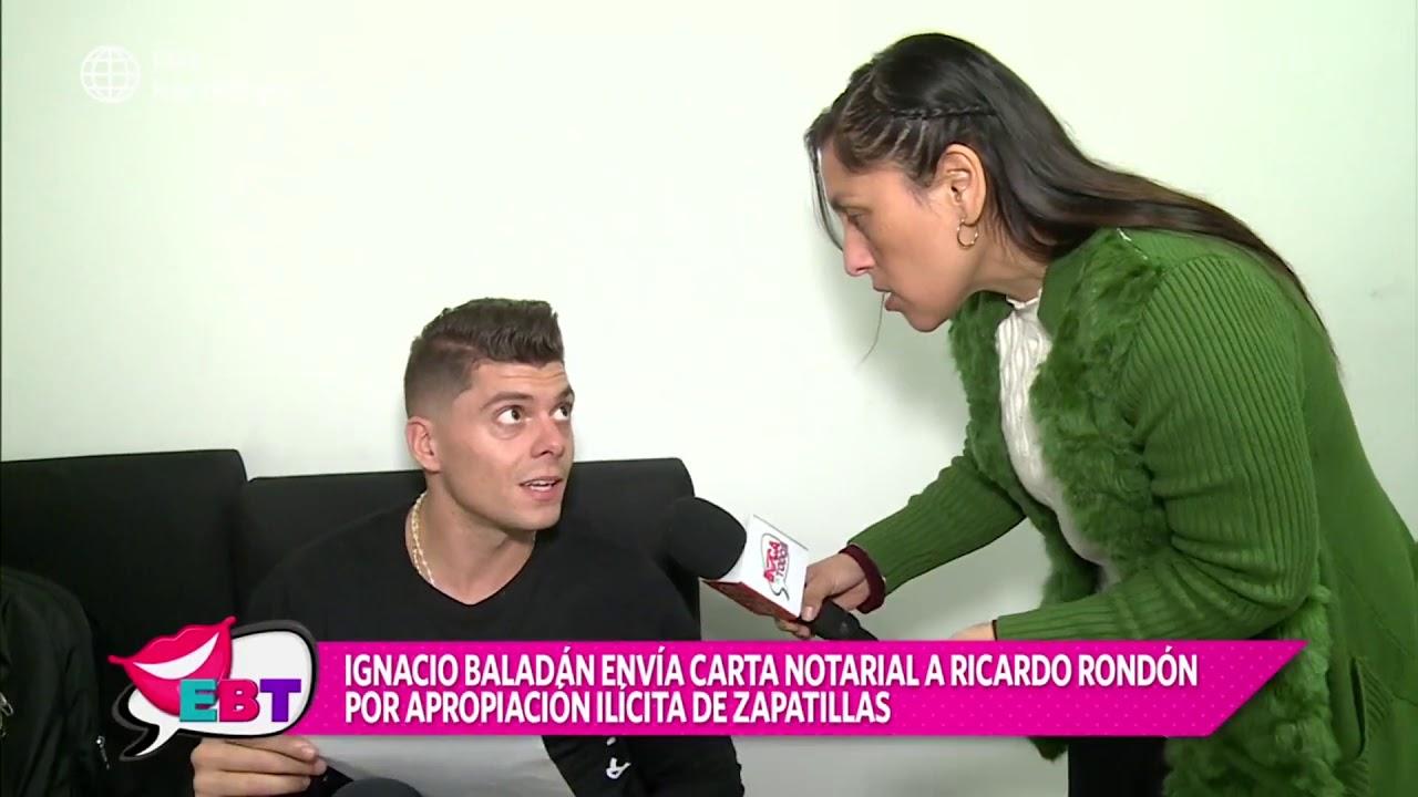 Ignacio Baladán envió carta notarial a Ricardo Rondón por esta razón
